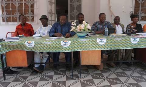 Léonce Sanon, Secrétaire général du MPP Houet: «Jusqu'à présent, je n'ai pas reçu  une lettre de démission»