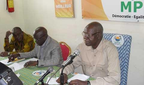 Salif Diallo à propos des dissensions au MPP: «Il n'y a pas l'ombre d'un nuage entre nous»