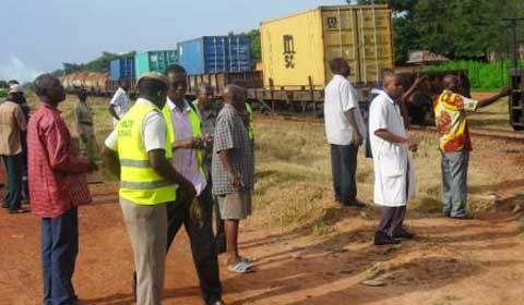 Accident de train  à Bobo-Dioulasso : Le corps était indescriptible
