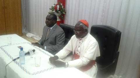 Le CFOP  chez le  Cardinal Philippe Ouédraogo: réaffirmer les positions politiques sur les questions de l'heure