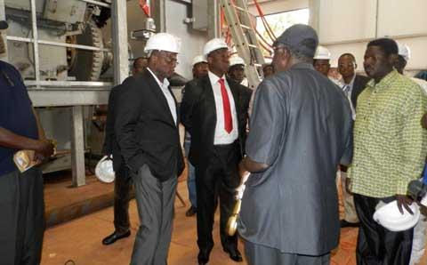 Salif Lamoussa Kaboré sur le chantier de la centrale Bobo II: «Nous sommes satisfaits mais nous estimons qu'il y a encore des efforts à faire»