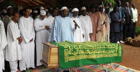Obsèques de Georges Sanogo: Adieu homme à l'âme généreuse!
