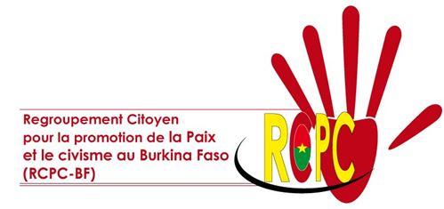 Situation nationale: le Regroupement citoyen pour la Promotion de la paix et du civisme au Burkina Faso (RCPC-BF) appelle à un dialogue franc