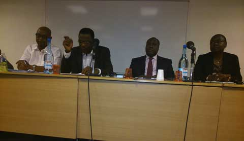 Zéphirin Diabré à la diaspora burkinabè de France: «Faites du bruit ici pour qu'on entende que la cause qui réunit les Burkinabè au pays a des échos ici»
