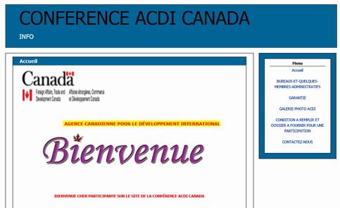 Cyber-escroquerie: Gare à la fausse conférence de l'ACDI