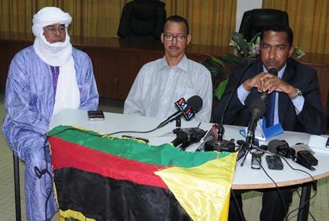 Crise malienne: les Mouvements de l'Azawad expliquent les blocages des négociations d'Alger à Ouagadougou
