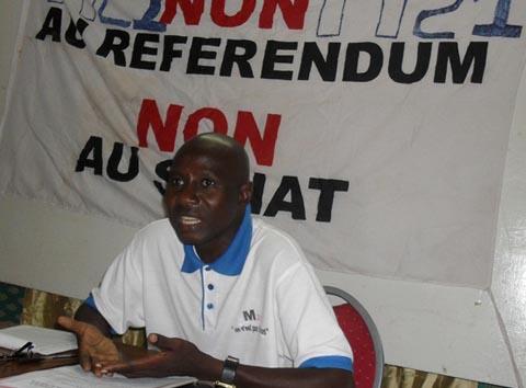 Marcel Tankoano, président du M21: «Le peuple a déjà rejeté le referendum au même titre que le sénat»