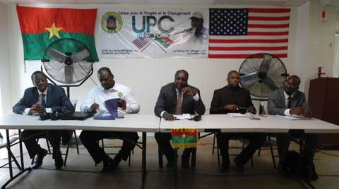 New York: Zéphirin Diabré parle de changement avec la diaspora burkinabè