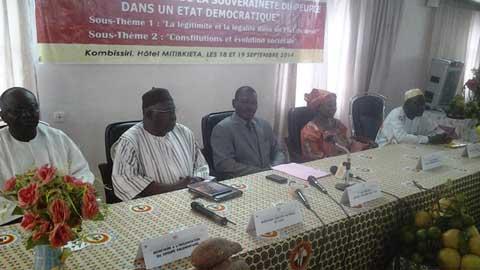 Journées parlementaires CDP: Boureima Badini et Augustin Loada  auscultent la démocratie au Burkina Faso