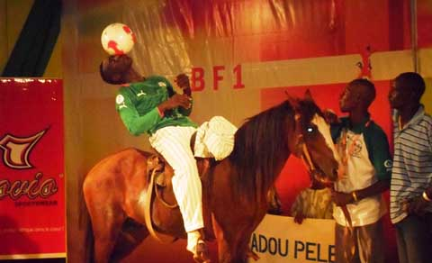 BF1 Freestyle: Tiendrébeogo Aboul Fayçal succède à Noël Minoungou