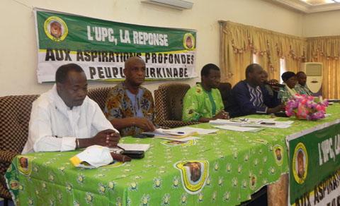 Première session ordinaire du BPN/UPC: La situation nationale et le fonctionnement du parti au menu des échanges