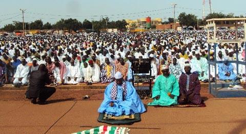 Tabaski à Ouahigouya: L'Imam a salué l'initiative du dialogue des autorités politiques