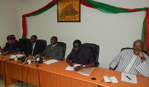 Arrêt du dialogue politique: L'opposition dénonce une «volonté  du Président du Faso d'aller au référendum en se basant sur n'importe quel prétexte»