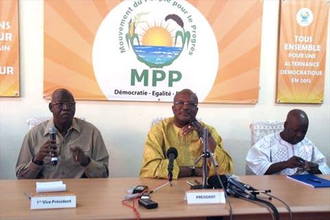 Rentrée politique du MPP: l'alternance démocratique en 2015 au menu des échanges