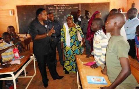 Arrondissement n°2 de Bobo: Ibrahim Sanon touche du doigt les réalités de l'éducation dans les écoles primaires