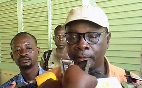 «Aucun de mes enfants ne va à l'école cette année», Grégoire Ouédraogo, Président de l'Association des sinistrés du 15 juillet à Lrlé.