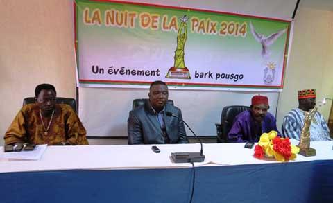 Promotion de la paix et de la tolérance: Bamos Théo propose une «Nuit de la Paix» le 27 novembre 2014