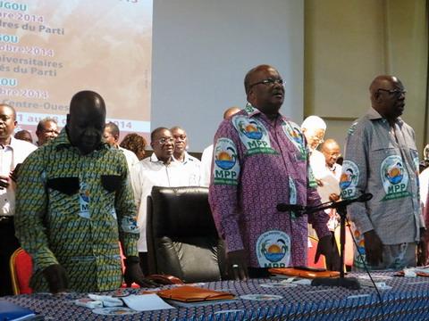 Première rentrée politique du MPP: La présidentielle de 2015 dans le viseur