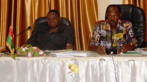 Dédougou: enfin! Les travaux du marché vont débuter avant le 11 Décembre