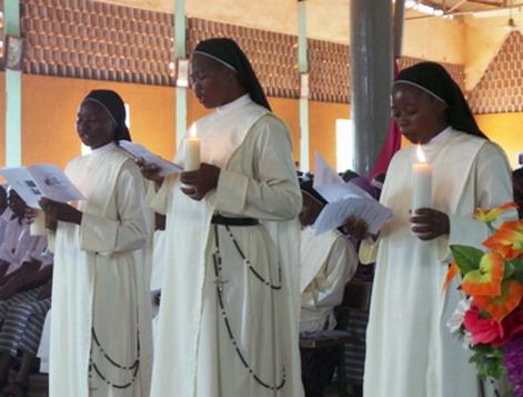 Vœux chez les sœurs de Charité Dominicaines de la Présentation de la Sainte Vierge