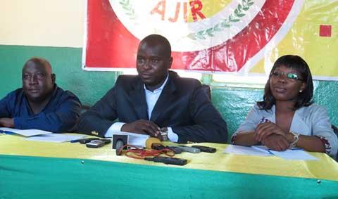 Dialogue politique inclusif: Le parti AJIR entend s'investir dans sa relance