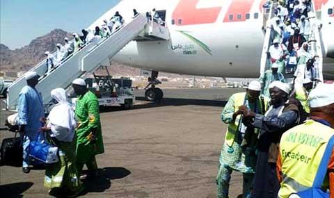 Liste et programme des vols retours du hadj 2014