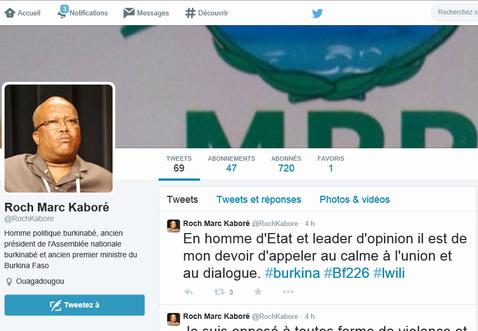 MPP: De faux comptes Twitter attribués à Roch Marc Christian Kaboré