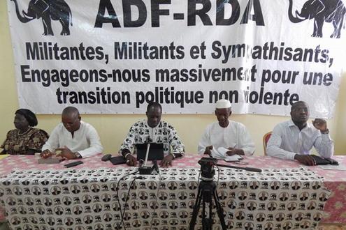 Soutien de l'ADF-RDA à la modification de l'article 37: «L'ADF-RDA a fait le choix de la paix et de la démocratie», dixit Gilbert Ouédraogo