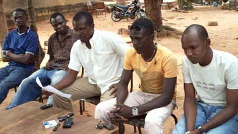 Modification de la Constitution: Des jeunes de Banfora lancent un appel aux députés