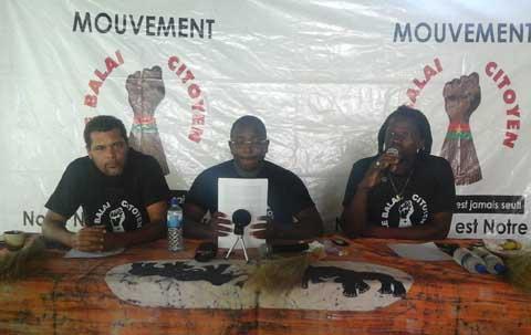 Révision de la constitution: Le Balai citoyen appelle à une mobilisation massive des populations à l'Assemblée nationale le 30 octobre