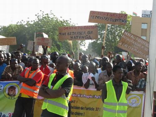 Marche-meeting du 28 octobre: Le gouvernement en appelle au sens de la responsabilité et à la retenue