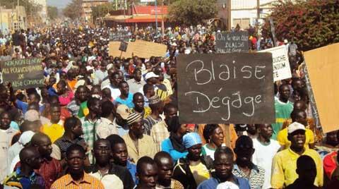 Manifestation contre la révision de la constitution: Une mobilisation sans précédent à Ouahigouya, Gourcy n'était pas en reste
