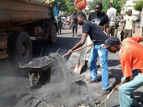 Insurrection populaire: Ouagadougou reprend sa dynamique d'ambiance «habituelle»
