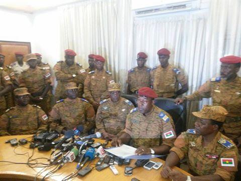 Réflexions à chaud sur la Déclaration du Chef d'Etat-Major Général des Armées  au soir de la Révolution Burkinabè du 30 Octobre 2014