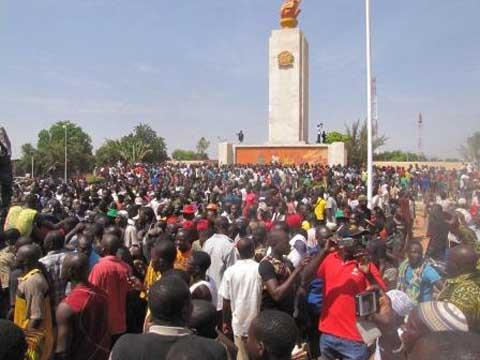 Journée du 30 octobre 2014 à Ouagadougou: En mots et en sentiments de manifestants devant l'Assemblée nationale