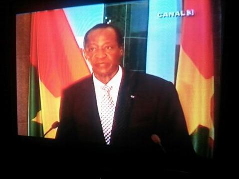 Alternance politique au Burkina: Blaise Compaoré promet de transmettre le pouvoir en 2015