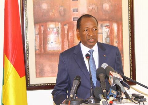 Burkina Faso: Blaise Compaoré a rendu sa démission
