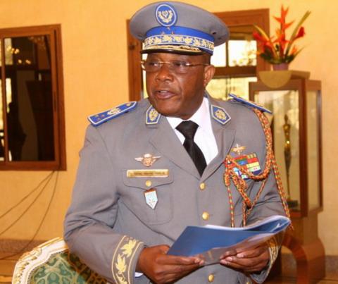 La déclaration du Gal Nabéré Honoré Traoré, nouveau chef de l'Etat du Burkina Faso