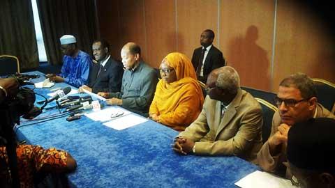 Transition politique: L'ONU, l'UA et la CEDEDAO invitent les parties  au respect de l'ordre constitutionnel