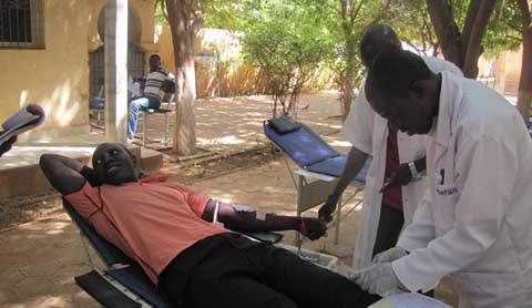 La Croix-Rouge burkinabè lance une campagne de collecte de sang