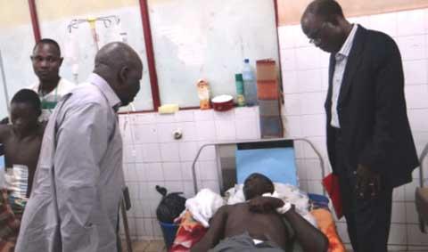 CHU-Yalgado Ouédraogo: Le MPP et le Balai Citoyen soutiennent les blessés
