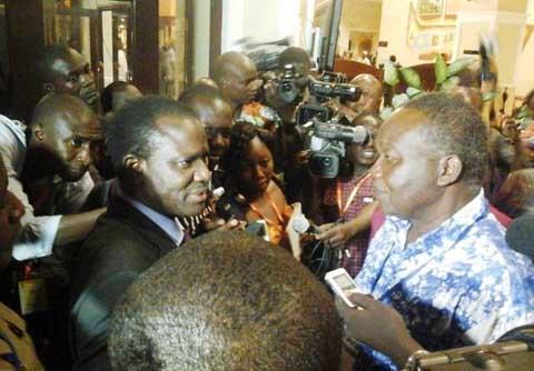 Réunion de haut niveau de la CEDEAO sur la situation nationale: La société civile et l'opposition quittent momentanément la salle, refusant de négocier avec la majorité