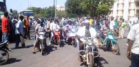 Transition politique au Burkina: la vision de la société  civile