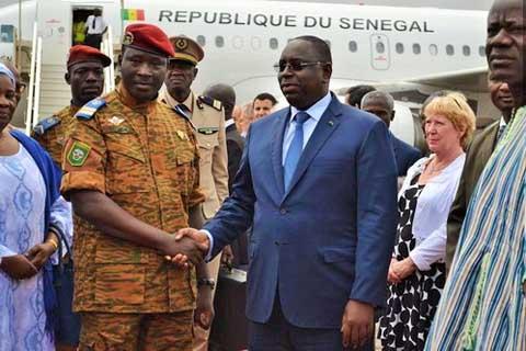 Prétendu soutien de Macky Sall à Blaise Compaoré: «Affabulation et commentaire» selon le président sénégalais