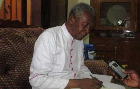 Mgr Anselme Titiama Sanon, ancien président du collège des sages: «Je prie pour que ce pays trouve un homme qui porte toute la nation dans son cœur»