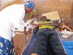 Don de sang aux blessés de l'insurrection populaire: M'ZAKA Sécurité mobilise 200 personnes