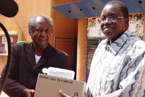 CHU-Yalgado Ouédraogo: Les transporteurs solidaires des blessés