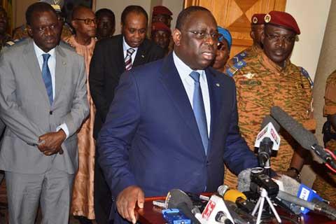 Transition politique au Burkina: les autorités militaires proposent des organes «simplifiés et allégés»