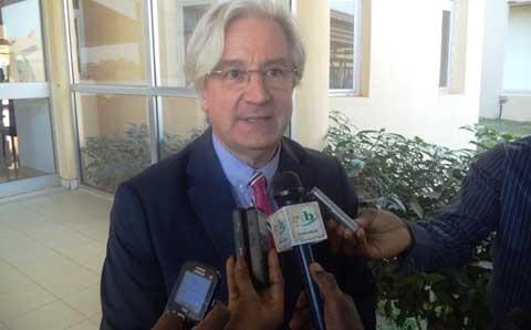 Transition politique: le chef de délégation de l'Union européenne  chez le président du CNT
