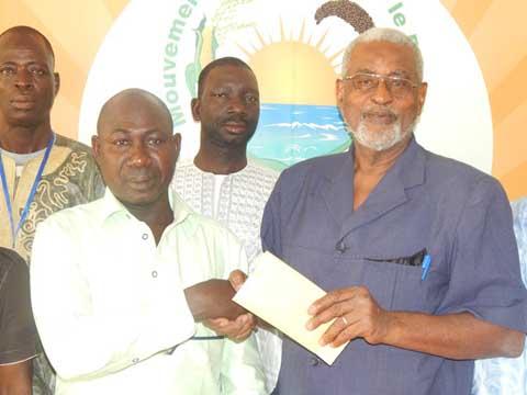 Soutien financier aux victimes de l'insurrection populaire: La section MPP de Côte-d'Ivoire apporte 500 000 FCFA